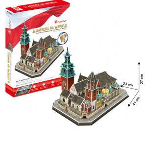Cubic Fun - 3D Puzzle Katedra Na Wawelu Wawel-Kathedrale Krakow Poland Large