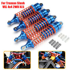 8xSprings+4xFront&Rear Aluminum Shock Absorber For Traxxas Slash VXL 4x4 2WD XL5