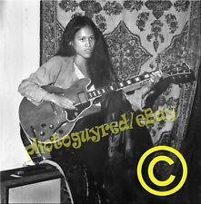 June Millington-guitar-Fanny group-8 x 10 inch photograph