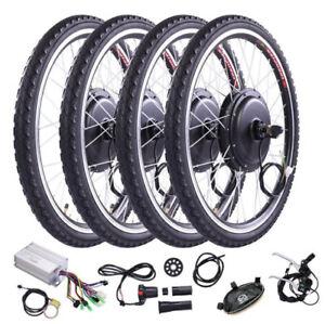 Electric Bicycle Kit 48V 1000W Front Rear Wheel E Bike Motor Conversion Cycling