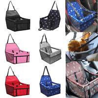 Waterproof Folding Pet Dog Cat Travel Car Seat Cover Carrier Basket Kennel Mat