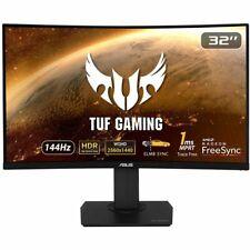 "ASUS TUF 32"" Gaming Monitor VG32VQ Quad HD 2560x1440p LED 1ms HDMI DP VESA 144Hz"