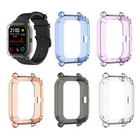 Pour Huami Amazfit GTS Montre Étui de Protection Coque en TPU Transparent Cover