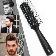 1pc Men Hair Brush Plastic Round Comb Barber Dressing Salon Styling 5 cm