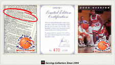 1993 Futera Australia Basketball Cards NBL Card Checklist 3 Ultra RARE