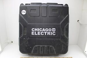 """Chicago Electric 68850 1/2"""" Cordless Drill Driver Case Only No Tools Good Cond"""