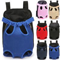 Small Dog Carrier Cat Pet Front Back Backpack Shoulder Carry Sling Bag Travel