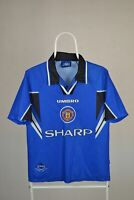 Football Shirt Manchester United Third 3rd 1996 1997 Umbro Sharp Size Children Y