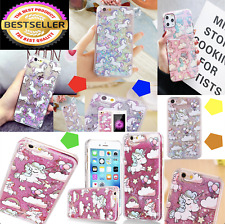 Luxury Unicorn Bling Liquid Glitter Case Cover For Apple iPhone SE 5S 5C 6S 7 8