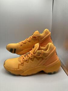 Adidas DON Issue 2 Crayola Gold Basketball Shoe FW8518 Size 7