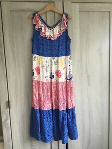 Marks And Spencer Girls Maxi Dress - Age 8-9 Years