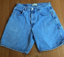 County Seat Mens Carpenter Relaxed Blue Jean Shorts Denim Tag Sz 33 Measures 30