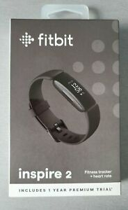 Fitbit Inspire 2 HR, Heart Rate Monitor, Health & Fitness Tracker - Black