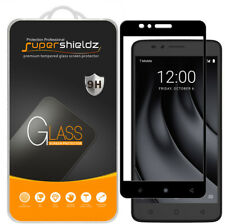 2X Supershieldz T-Mobile REVVL Plus Full Cover Tempered Glass Screen Protector