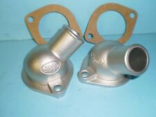 1949 1950 1951 1952 1953 Ford Flathead  V8  Water Necks Stainless Steel
