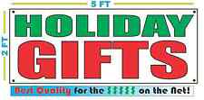 HOLIDAY GIFTS Banner Sign NEW Larger Size Best Price for The $$$ Pawn