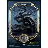 MTG Unsanctioned - Swamp Full Art - FOIL NM Card