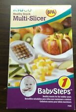 New Kidco Healthy Snack Multi-Slicer w/ 2 Blades Baby Steps F400 Toddler Years