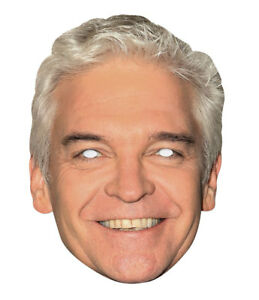 Phillip Schofield Single 2D Card Party Face Mask Celebrity
