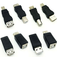 USB 2.0 Type A Male Female to Type B Male Female Printer Scanner Converter~