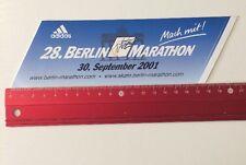 Aufkleber/Sticker: Adidas - 28. Berlin Marathon 2001 (020616142)