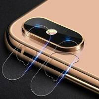 Glass Screen Film Protector Phone Back Camera Lens Cover For iPhone X XS Max XR