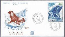 2963 TAAF FRANCE FDC 1979 SEA LION ANTARCTIC MARTIN DE VIVIES