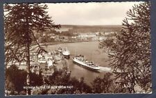 ROTHESAY, Isle of Bute. View from East. Vintage Real Photo Postcard. Free Post