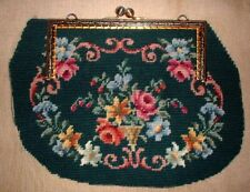 Completed Needlepoint Finished On Canvas Ethnic Art of Guatemalan Culture