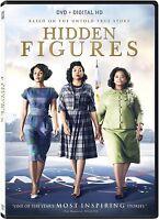 Hidden Figures (DVD, 2017, Includes Digital Copy) NEW