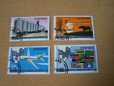 ZIMBABWE DEVELOPMENT SET,4 VALS,F/USED.EXCELLENT.