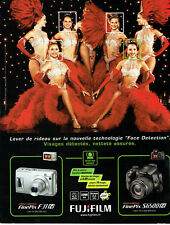 Publicité Advertising 117  2006  Fujifilm appareil photo Finepix  Moulin Rouge