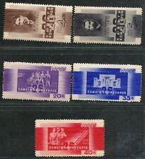 russie. variétés sc. 519-23. sk. 345-9. commisars at Baku Ensemble mnhog. CV