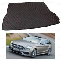 Anti Scrape Leather Car Trunk Mat Carpet Fit for CLS Shooting Brake 2013-2017