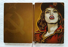 steelbook Command and & conquer  alerte rouge 3 ps3 xbox 360 / rare / envoi grat