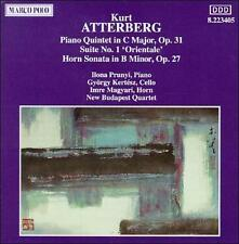Atterberg;Piano Quintet 31, New Music