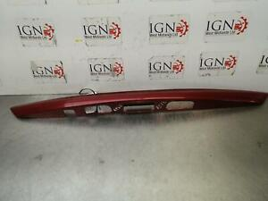 TOYOTA YARIS 2016 Mk3 Rear Number Plate Trim In Red Paint Code 2NU 768010D552