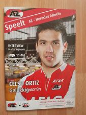 Programme / Programma AZ Alkmaar v Heracles Almelo 03-03-2012