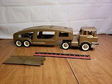 Vintage Structo Auto Haul Tractor Trailer Truck