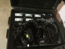 Telex coaches intercom system Xo-Ap gently used 1 season 5 belt packs 5 headsets
