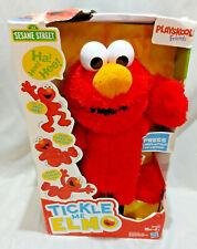 Playskool Friends Tickle Me Elmo Sesame Street Plush NEW Box Tummy Laugh Kids
