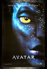 AVATAR * CineMasterpieces 1SH ORIGINAL MOVIE POSTER DS NM-M 2009