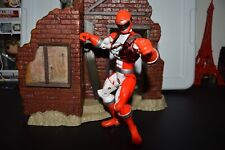 Power Rangers Operation Overdrive Red Ranger 7in Figure w/Special Metallic Armor