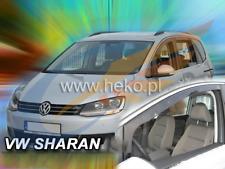 Windabweiser VW SHARAN 5-türer 2010-heute 2-tlg HEKO dunkel Regenabweiser