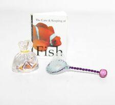 Dollhouse 1:12 Miniature NEMO CLOWN FISH BAG BOOK NET American Girl ILLUMA ROOM