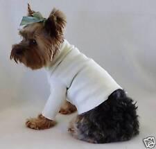 XXXS New Ivory Dog Turtleneck Shirt clothes pet clothing Teacup PC Dog®