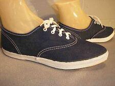 4 Womens GIRLS NOS Vtg 1970s TENNIS Shoe 70s LaCrosse SKAMPS BLUE CANVAS SNEAKER