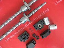 2 ballscrews RM1605-350/700mm+2 BK12 BF12 end mounts +2 nut brackets+ Couplings