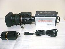 "Sony HDC-X300 HD 1/2"" portable studio camera with Fujinon HSs18x5.5BMD-D18 lens"
