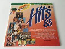 "Hits `85 Das deutsche Doppelalbum 1985 Schallplatten Vinyl 12"" Langspielplatte"